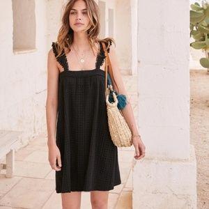 Sezane Assia Crochet Shift Dress SIze FR 36